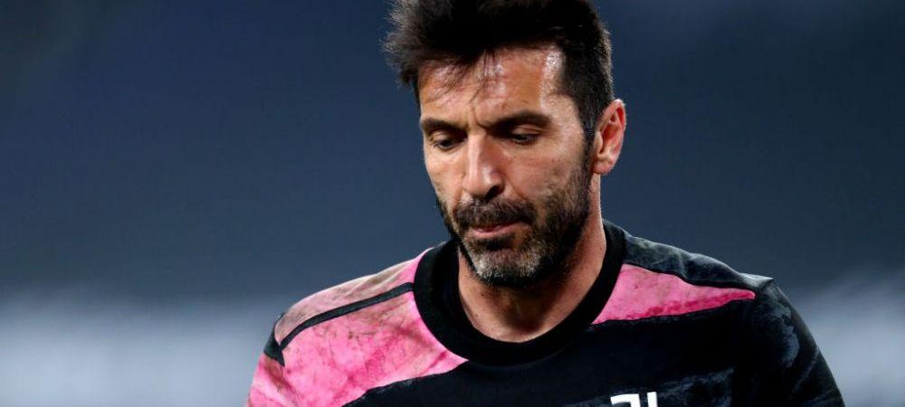S-a aflat motivul pentru care Buffon vrea sa plece de la Juventus! Ce isi dorea portarul italian de la Pirlo inainte sa se retraga