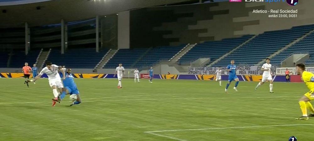 Scandal in tribunele arenei de lux de la Tg. Jiu! Ce s-a intamplat dupa primul gol incasat de Craiova in returul semifinalei Cupei Romaniei