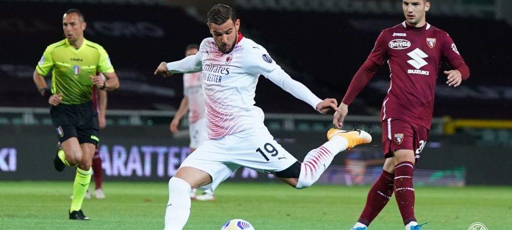 AC Milan a dat de pamant cu Torino!Rebic, in rol principal dupa accidentarea lui Zlatan! Cat s-a terminat meciul