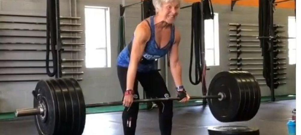 Bunica culturista, noua senzatie a Americii! Are 71 de ani, dar ridica sute de kilograme si se antreneaza 20 de ore pe saptamana