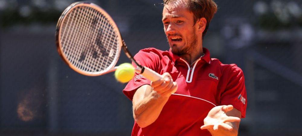 """""""Zgura e cea mai rea suprafata, dar daca voua va place sa va tavaliti in noroi ca un caine, eu nu va judec!"""" Numarul 2 ATP, Daniil Medvedev a cerut sa fie descalificat de la Roma"""