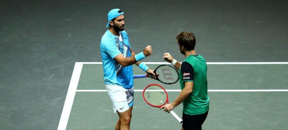 Fostul lider mondial, Andy Murray a fost invins de Horia Tecau la Roma! Tecau si Krawietz s-au calificat in sferturi