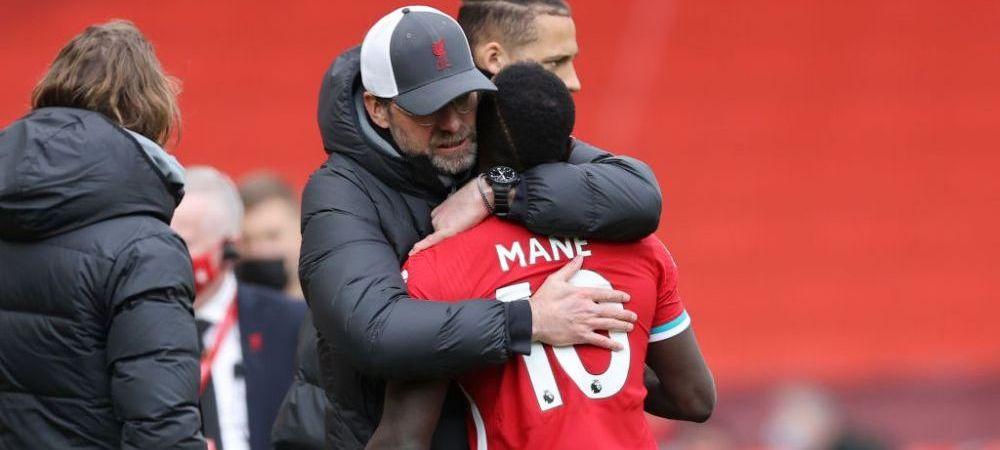 Scandal la Liverpool?! Mane a refuzat sa il salute pe Klopp la finalul meciului cu United! Cum a reactionat antrenorul