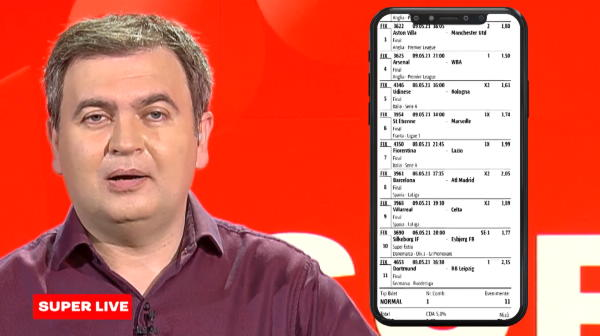 A dat lovitura vietii la pariuri! A luat 11 meciuri si s-a ales cu aproape 10 000 de euro! Pe ce partide a mizat