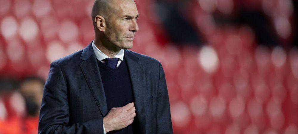 Zidane, out de la Real la finalul sezonului! Presa din Madrid a facut anuntul: care este motivul deciziei sale