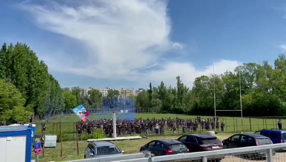 Nebunie in Ghencea! Suporterii Stelei au luat cu asalt stadionul pentru barajul cu Mostistea Ulmu