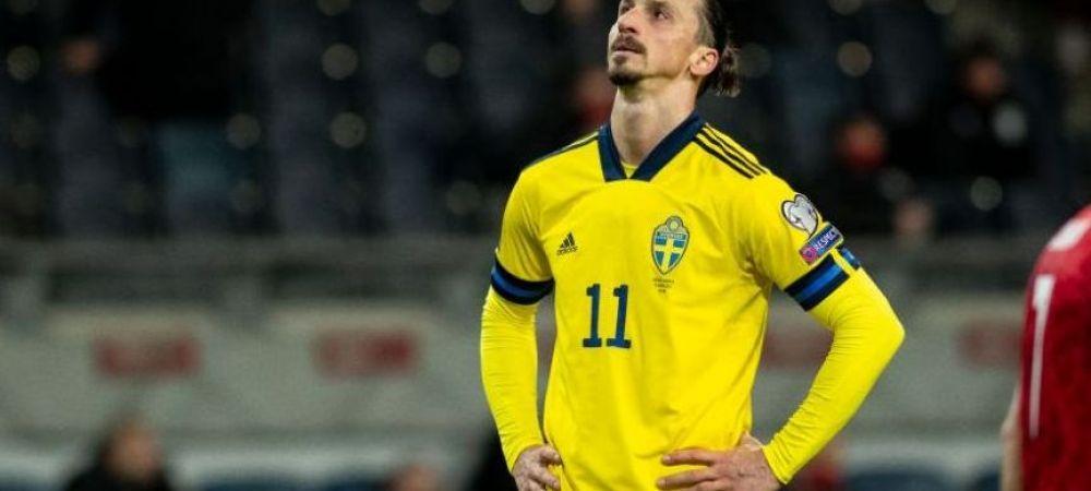 Zlatan Ibrahimovic e OUT pentru EURO! Anuntul oficial facut de selectionerul Suediei