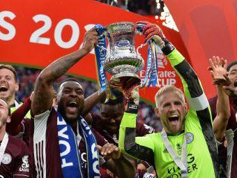 Leicester castiga pentru prima oara in istorie FA Cup! Meciul, decis de executia magistrala a lui Tielemenas
