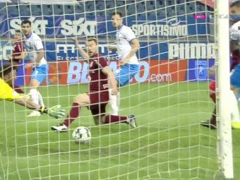 Liga 1, casa lucrurilor imposibile! :) Paun, gol pentru CFR in minutul 4. Abia intrase in teren in locul pustiului Gidea
