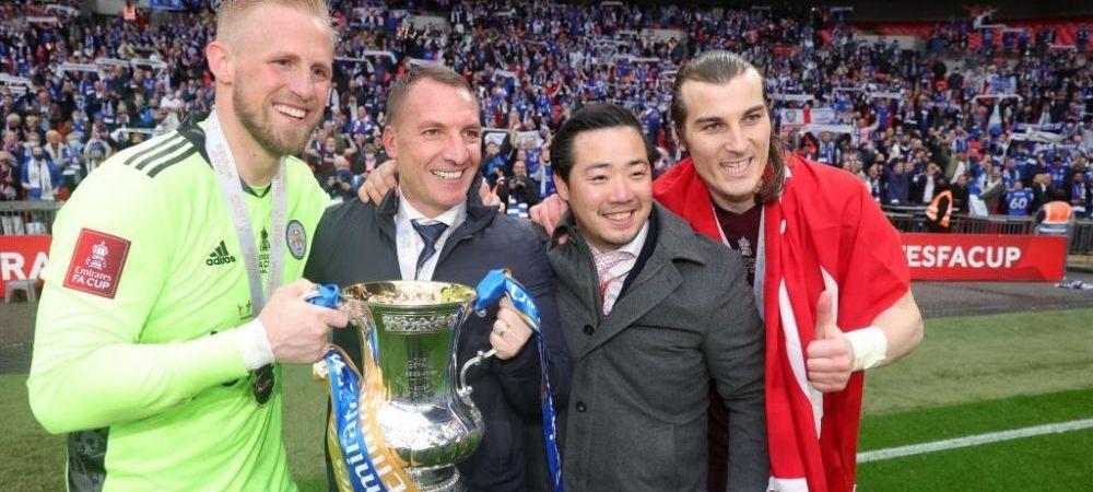 """Imagini de senzatie din finala Cupei Angliei! Ce a putut sa faca patronul lui Leicester dupa victoria cu Chelsea: """"Nu cred ca exista un alt club in care lucrurile sa fie asa!"""""""