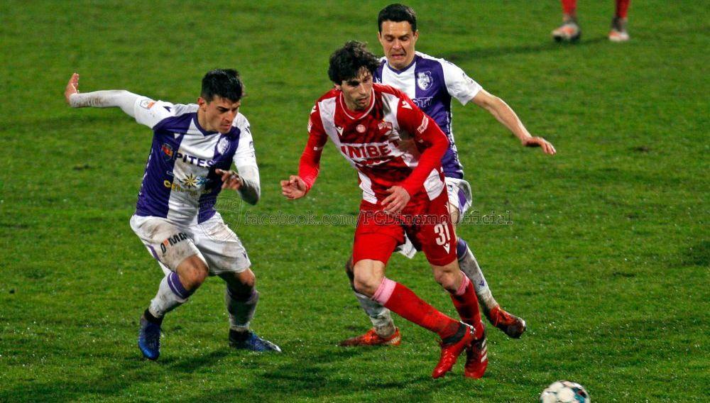 FC Arges - Dinamo, LIVE de la 16:30 | Dinamo, obligata sa castige pentru a se distanta de zona rosie! Echipele de start