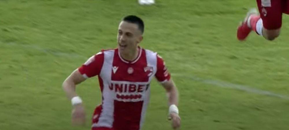 Ce revenire! Mihaiu, primul gol in Liga 1, la cinci zile de la cosmarul din Cupa cand a ratat doua penalty-uri