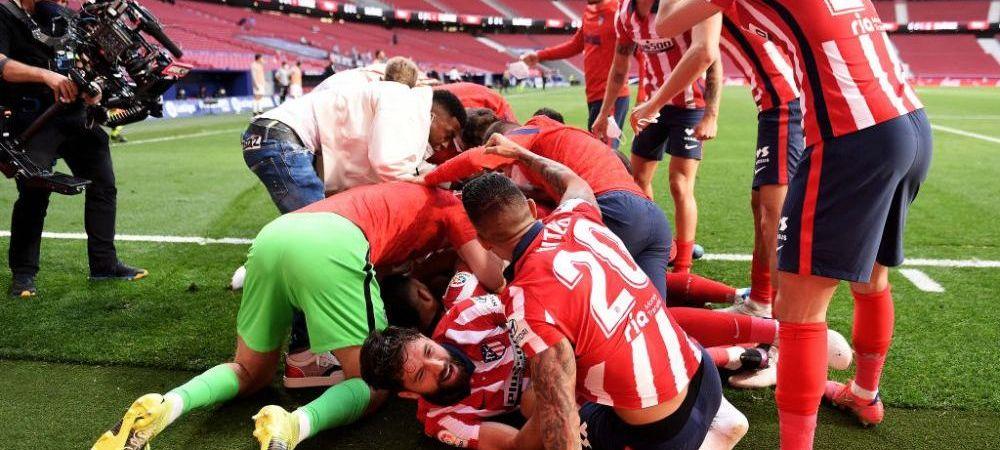 Dementa totala in La Liga! Atletico, doua goluri anulate! Suarez a adus victoria cu Osasuna in minutul 88! Real a batut degeaba la Bilbao. Cum arata clasamentul inaintea ultimei etape