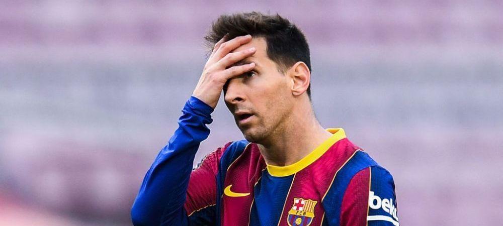 """""""Sper ca nu a fost ultimul meci al lui Messi pe Camp Nou pentru Barcelona!""""Koeman, temator ca argentinianul va pleca la finalul sezonului"""