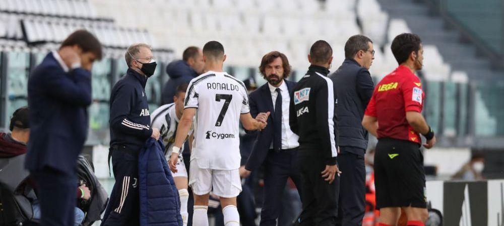 Nume surprinzator pe lista lui Juventus pentru a-l inlocui pe Pirlo! Ce legenda a unei rivale vor sa aduca pe banca tehnica