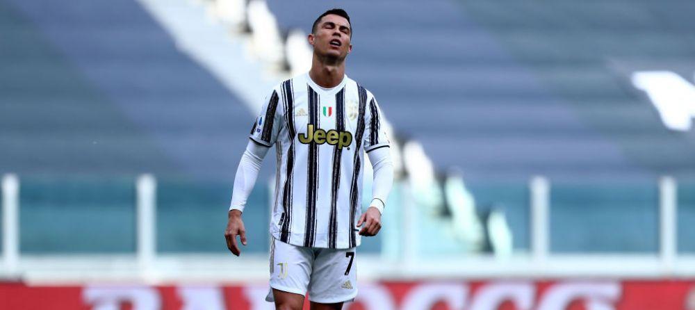 Sunt imaginile momentului in fotbalul mondial! Ronaldo, surprins cand isi