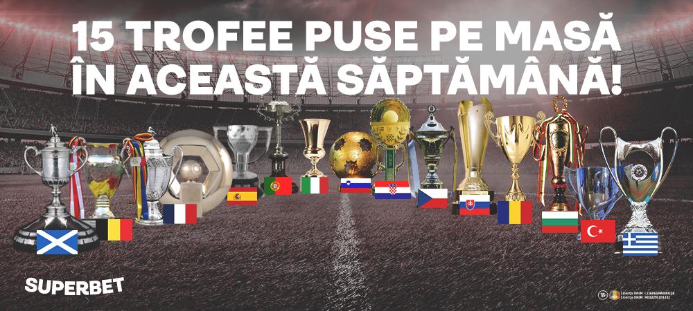 (P)SuperSăptămâna trofeelor! 11 Cupe și 4 campionate se încheie în zilele următoare