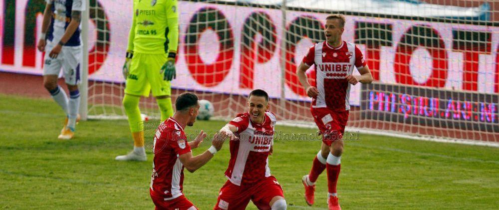 Andreas Mihaiu, recunoscator colegilor dupa primul gol in Liga 1!