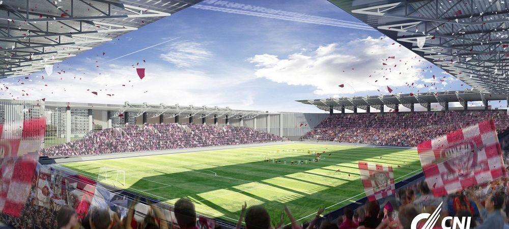 Noua arena a Rapidului ar putea fi inaugurata intr-un meci cu Dinamo Kiev! Propunerea facuta giulestenilor de Mircea Lucescu