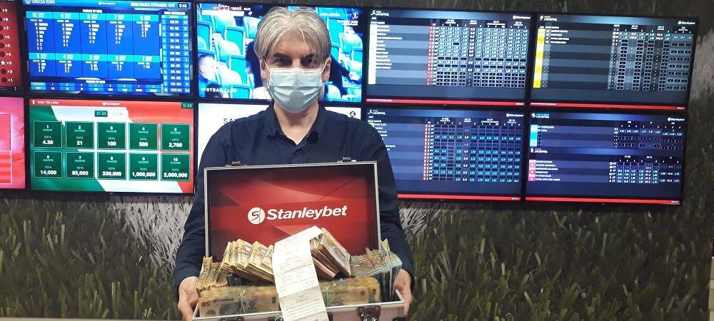 (P) Mega-câștigul anului la pariuri: 500.000 de lei cu un bilet!