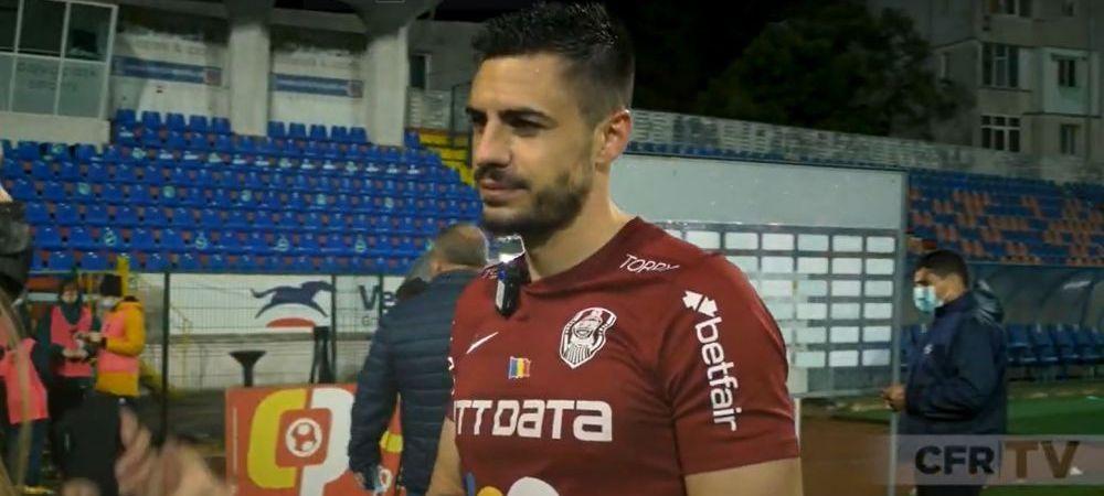 """Burca, mesaj pentru echipa lui Becali dupa ce a luat titlul: """"Asteptam garda de onoare!"""" Fundasul vrea suporteri in tribune in ultima etapa"""