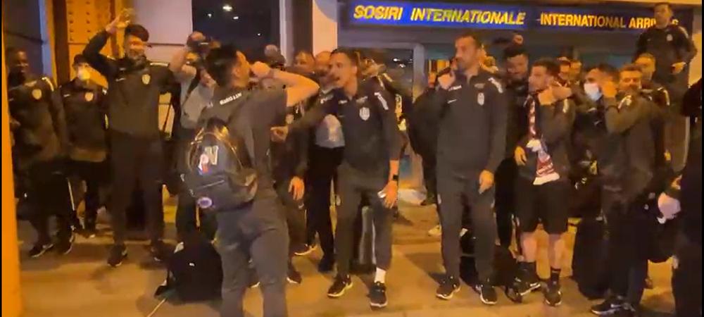 """""""Campionii, campionii!"""" Noapte alba pentru CFR dupa cucerirea titlului in Liga 1! Cine a fost sufletul petrecerii inca de la aeroport"""