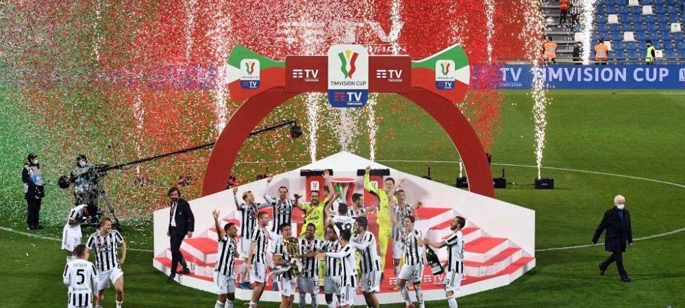 Juventus isi salveaza sezonul si castiga Cupa Italiei in fata Atalantei! Un nou record pentru magnificul Ronaldo