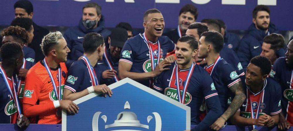 PSG castiga Cupa Frantei in fata lui Monaco, dupa o prestatie de exceptie a lui Mbappe! Ce a spus fotbalistul despre viitorul sau dupa meci
