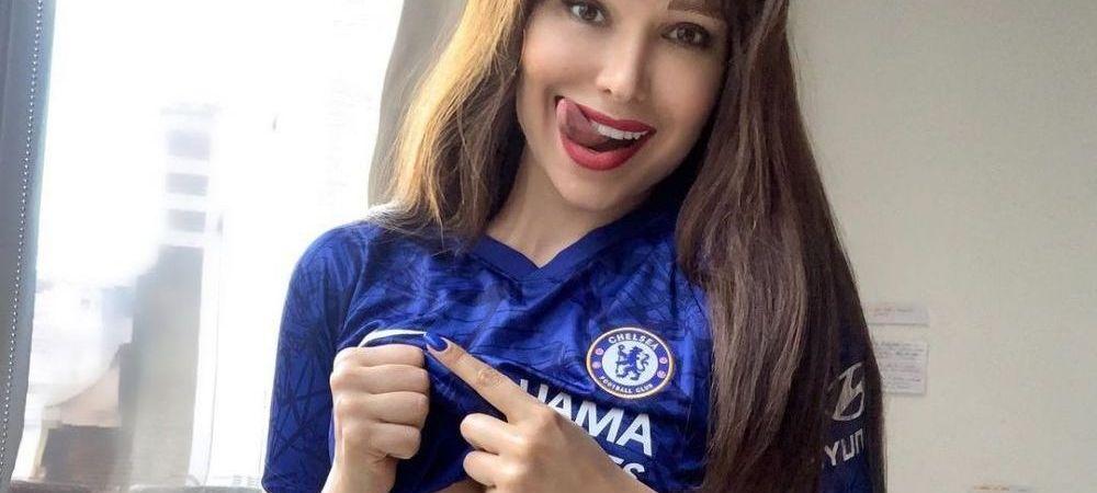 Ea este cea mai sexy fana a lui Chelsea! Declaratia de dragoste pentru Tuchel si echipa lui inainte de finala Champions League! L-a numit si pe Guardiola 'sexy'
