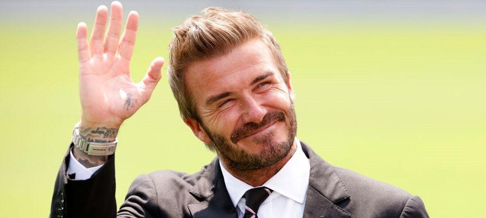"""David Beckham, inclus in Hall of Fame-ul Premier League! """"E o parte importanta din viata mea!"""" Reactia fostului fotbalist"""