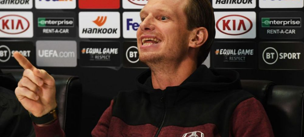 """Raspunsul genial al lui Arlauskis cand a fost intrebat de motivul pentru care FCSB nu a mai luat titlul: """"A iesit Gigione din puscarie!"""" Replica pentru patron: """"Sa ia licenta PRO si gata!"""""""