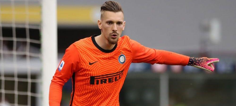 Ionut Radu, anuntat titular la Inter in meciul cu Udinese! Ce scriu italienii despre viitorul portarului roman la Milano