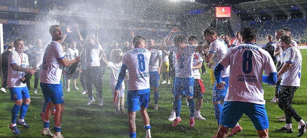 Prima importanta pentru fotbalistii Craiovei dupa castigarea Cupei! Cati bani le-a promis Rotaru in acest final de sezon