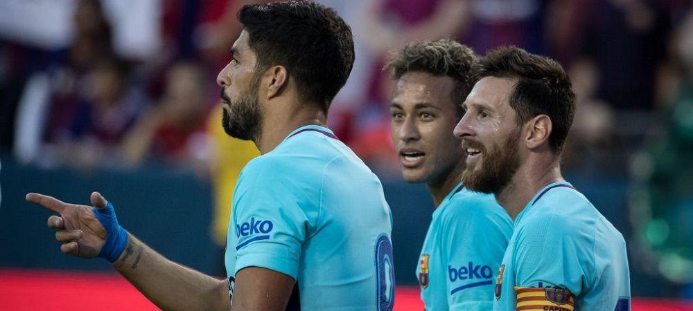 Neymar i-a transmis un mesaj emotionant lui Suarez! Ce a postat brazilianul dupa cucerirea titlului cu Atletico Madrid