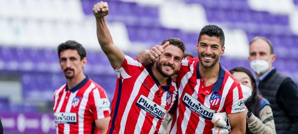 Atletico Madrid va primi o suma fabuloasa pentru castigarea titlului in La Liga! Cat vor incasa marile rivale pentru clasarile pe podium