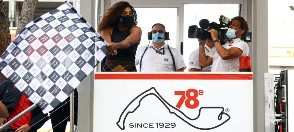 Serena Williams, vedeta in Formula 1! Jucatoarea de tenis a acaparat toate privirile in momentul in care Max Verstappen a semnat victoria la Monte Carlo