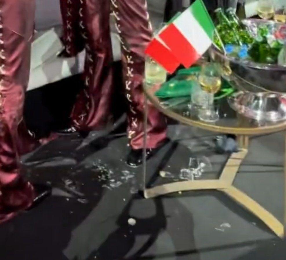 Fanii au gasit dovezile dupa ce castigatorul Eurovision a fost acuzat ca a tras pe nas in direct! Imaginile care confirma declaratiile italianului