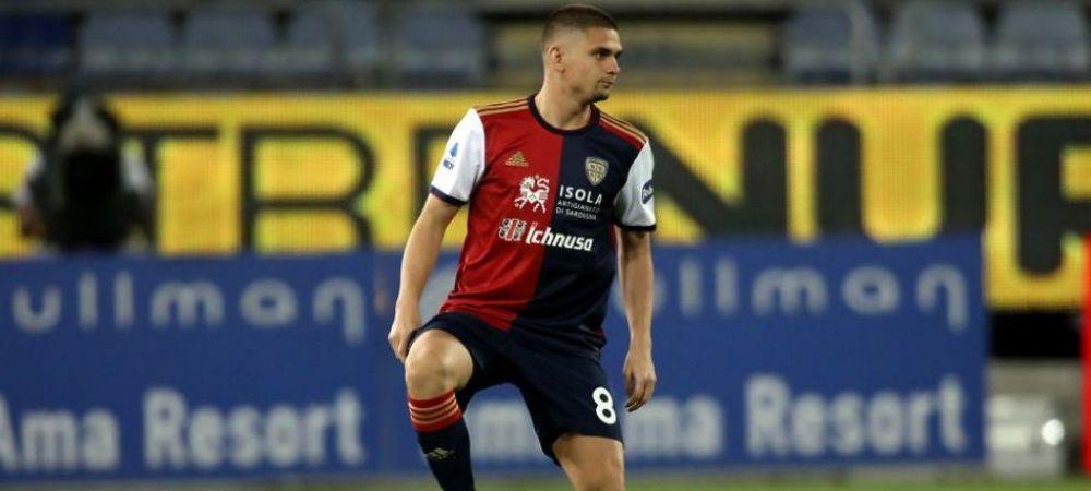 Razvan Marin i-a convins pe oficialii lui Cagliari! Ce contract ii pregatesc italienii dupa prestatiile bune din acest sezon