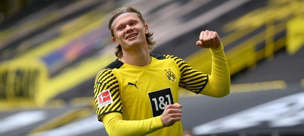 Tocmai si-a anuntat Haaland plecarea de la Dortmund?! Ce a postat starul norvegian dupa finalul sezonului