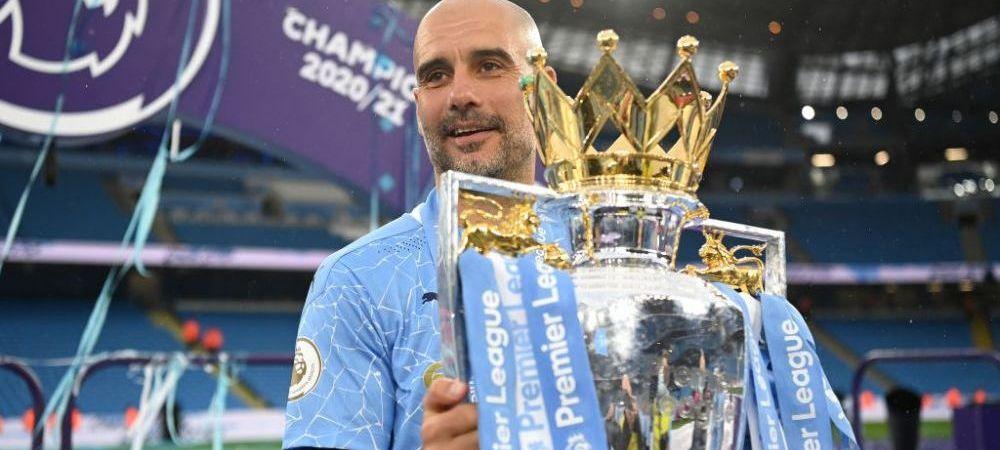 Inca un trofeu pentru Guardiola! Ce premiu a primit antrenorul dupa ce a castigat titlul cu Manchester City