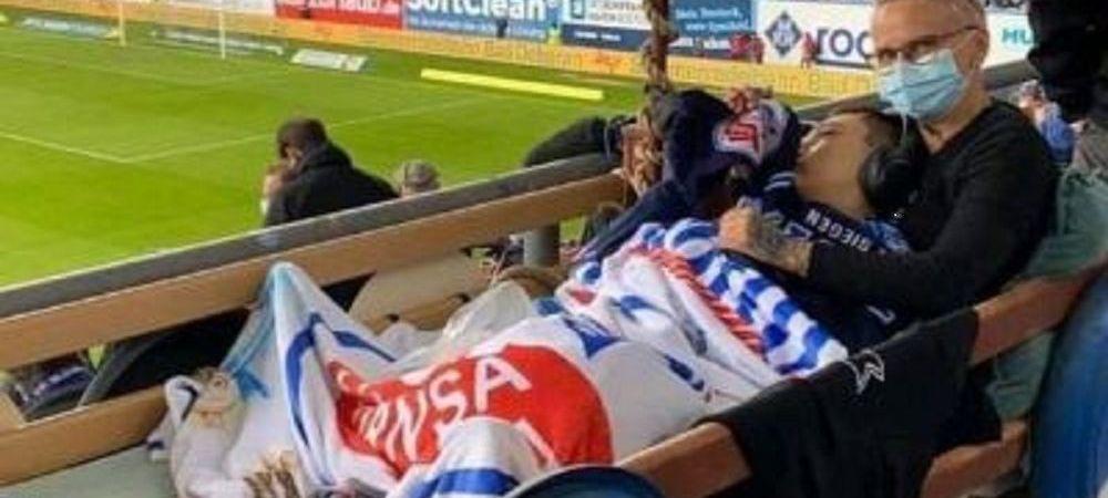 Gest superb facut de un club din Germania dupa promovarea in liga a doua! Cum si-au facut fericit un fan de doar 15 ani! Imagini emotionante