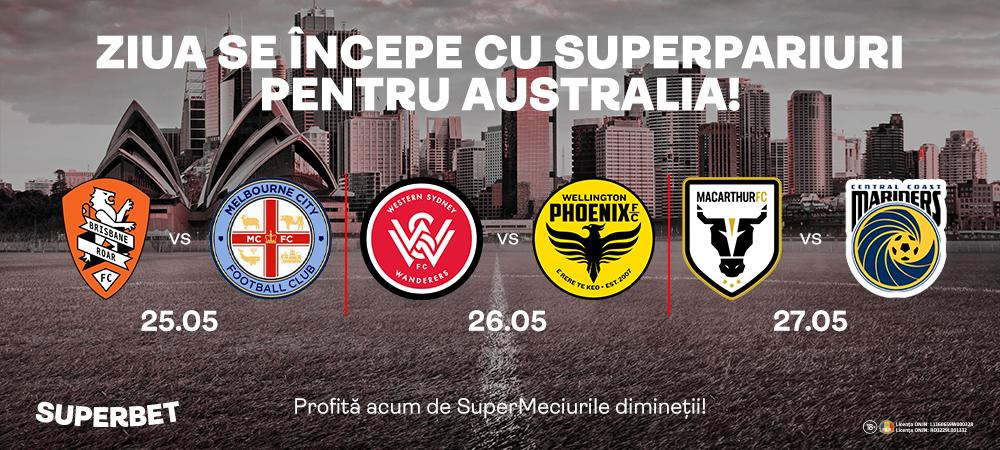 (P) Ziua se incepe cu SuperPariuri pe Australia!