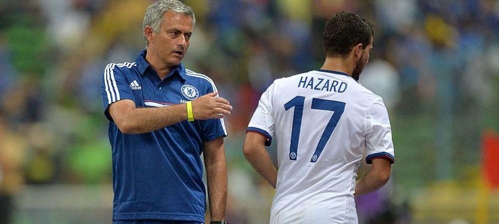 Mourinho nu se joaca! Vrea sa il aduca pe Hazard la AS Roma! Ce salariu cere belgianul