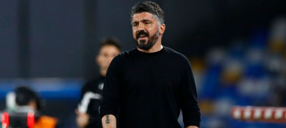 Gattuso si-a gasit echipa la doar o zi dupa ce a fost demis de Napoli! Antrenorul italian a semnat cu echipa la care Mutu a scris istorie