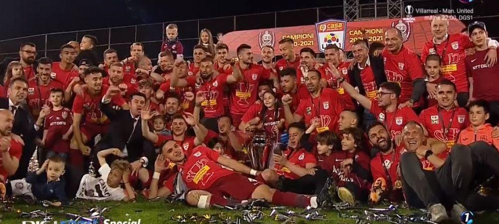 CFR Cluj si-a primit trofeul de campioana a Romaniei! Imaginile senzationale ale bucuriei de la Cluj