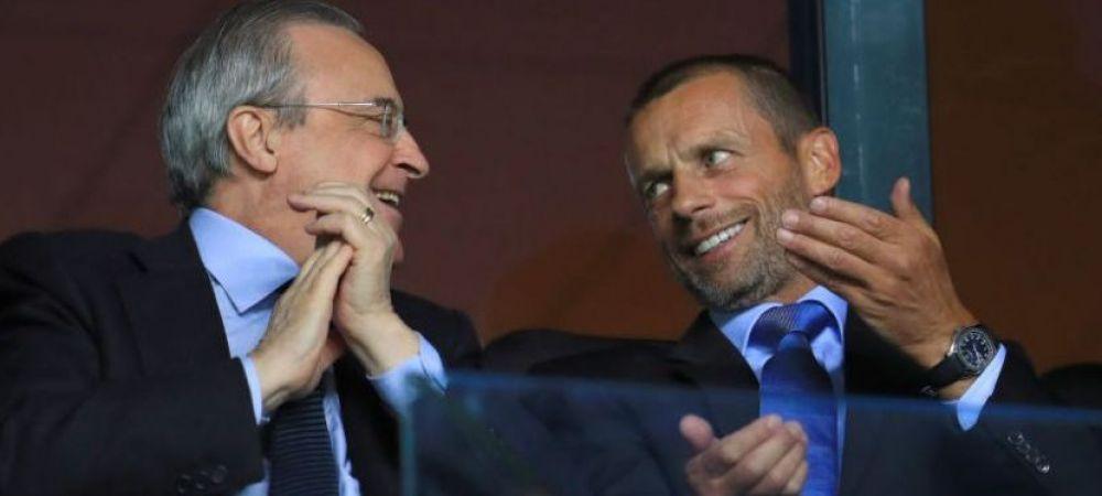 UEFA ia masuri dure impotriva echipelor care nu s-au retras din Super Liga! Cum vor fi sanctionate Real Madrid, Barcelona si Juventus