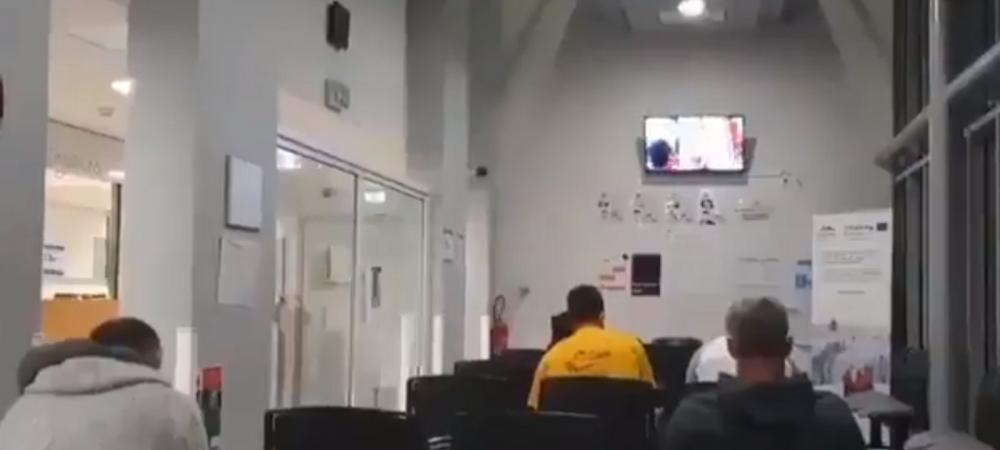 Sunt imaginile momentului! Un film pentru adulti, difuzat intr-un spital timp de 20 de minute! Cum au reactionat oamenii