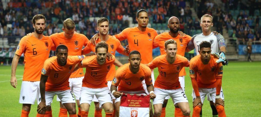 Olanda si-a anuntat lotul la Euro 2020! Un atacant cu 10 goluri in Premier League, lasat acasa. Ce i-a infuriat pe fani