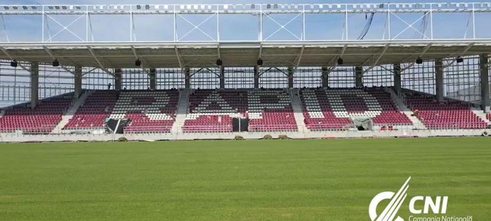 Lucrarile la Stadionul Rapid, in faza testelor de sonorizare! Imagini de ultima ora din Giulesti: cum arata arena nou-promovatei