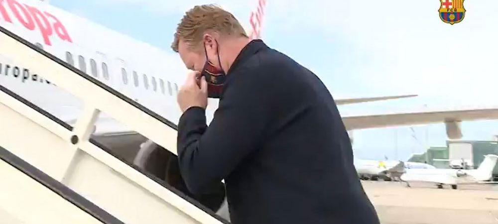 Koeman si-a facut bagajele! Barcelona l-a anuntat ca negociaza cu alt antrenor